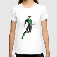 green lantern T-shirts featuring Green Lantern by Ayse Deniz