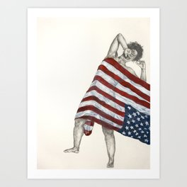 American Territory Art Print