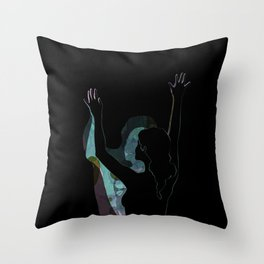 Dancing With Shadows #3 Throw Pillow