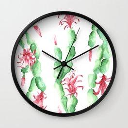 schlum-schlum-Schlumbergera Wall Clock