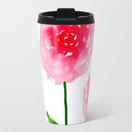 Spring floral Travel Mug