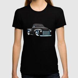 Classic Street Rod Pickup Truck Cartoon T-shirt