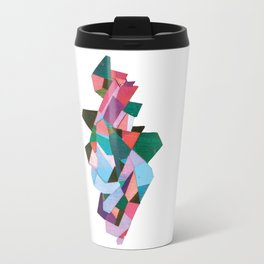 bach abstraction Travel Mug