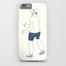 boy in a B cap Slim Case iPhone 6s