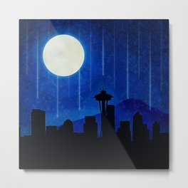 Sleepless Seattle Metal Print