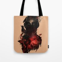 universe Tote Bags featuring Universe Inside by nicebleed