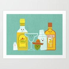 Margarita! Art Print