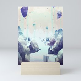 Edge of the Earth Mini Art Print