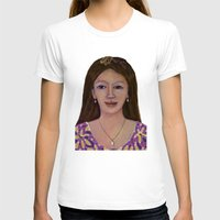 asia T-shirts featuring Asia woman by angelprint