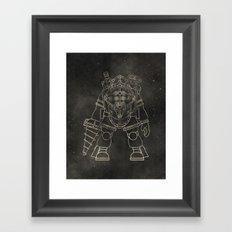 Big Daddy: BioShock Framed Art Print