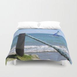 Idylic sea scape Duvet Cover