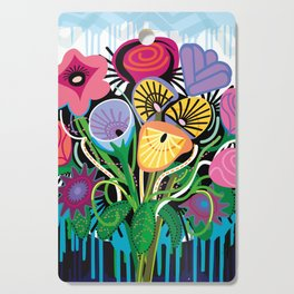Dripping Gardens Cutting Board