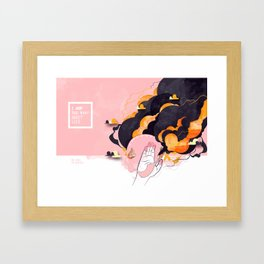 No Human #2 Framed Art Print