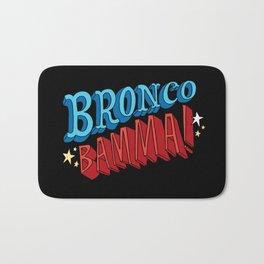 Bronco Bamma! Bath Mat