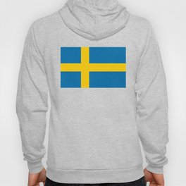 Flag of Sweden - Authentic (High Quality Image) Hoody