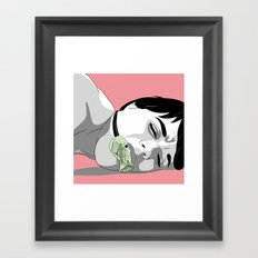 Dollars Framed Art Print