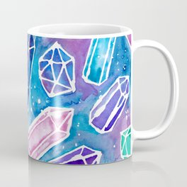 Space Crystals Coffee Mug