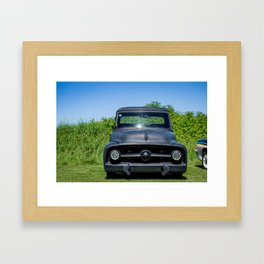 Won by a Foot Framed Art Print