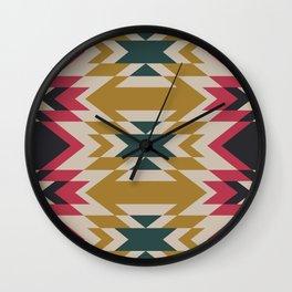 Bohemian Style Geometric Pattern Wall Clock