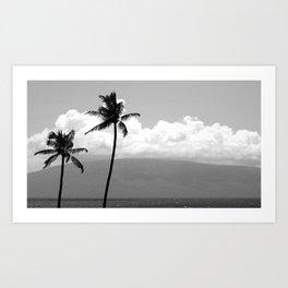 Palm Tree Noir #14 Art Print