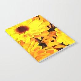 Daisies Yellow 3 Notebook