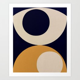 Aimlessly in Circles - Tear Art Print