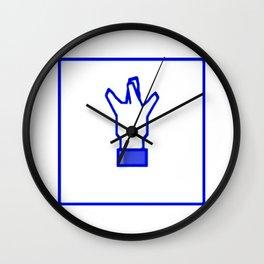 West Coast Hand Sign Social Media Wall Clock