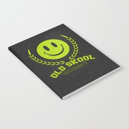 Old Skool Academy Rave Quote Notebook