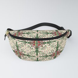 Vintage Christmas Fanny Pack