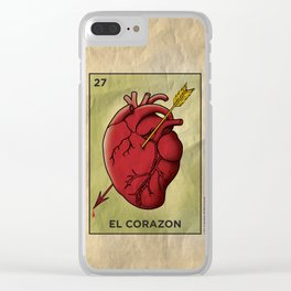 El Corazon Clear iPhone Case