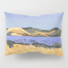 Lake in Marin County Pillow Sham