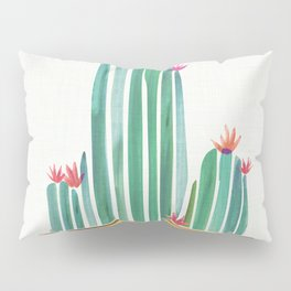 Tiny Cactus Blossoms Pillow Sham