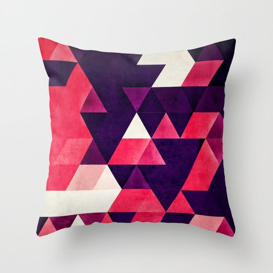 cyrysse lydy Throw Pillow