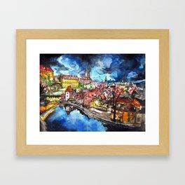 Krumau Framed Art Print