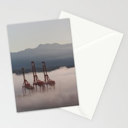 Burrard Inlet Fog Stationery Cards