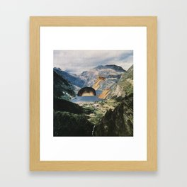 Out of Bath Framed Art Print