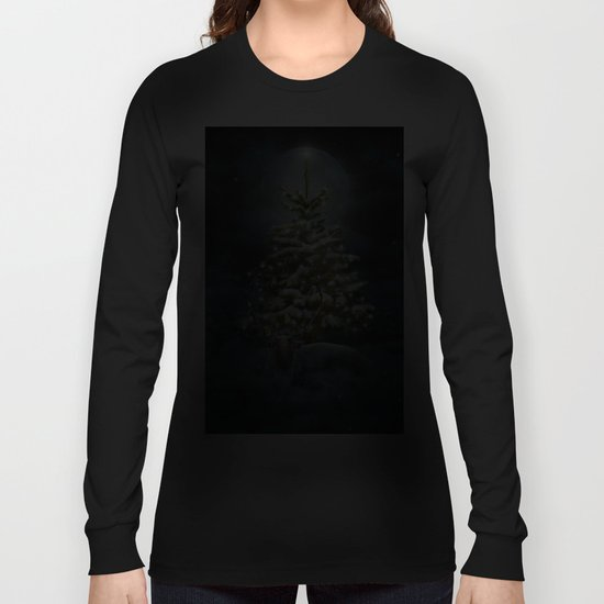 All Is Calm. All Is Bright. (Winter Guardian / Night) Long Sleeve T-shirt