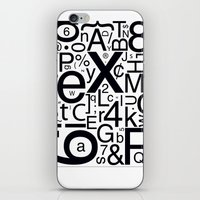 helvetica iPhone & iPod Skins featuring HELVETICA by Typography Photography™