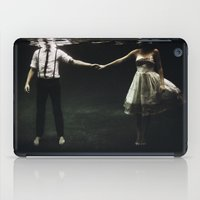 water iPad Cases featuring abyss of the disheartened : IX by Heather Landis