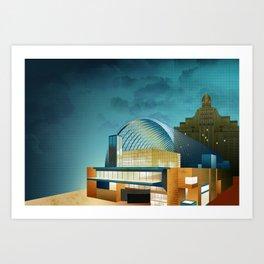 Kimmel Center - Philadelphia Art Print