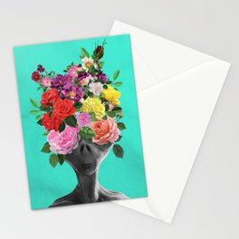 Alien Bouquet  Stationery Cards