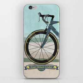 Tour Down Under Bike Race iPhone Skin