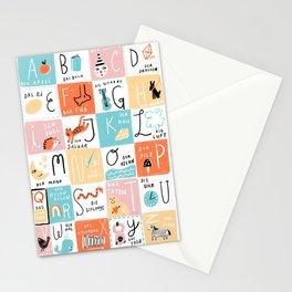 Das Alphabet Stationery Cards