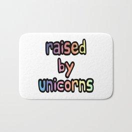 Raised By Unicorns Bath Mat