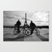 tour de france Canvas Prints featuring Tour de France by HAUS of SILVA