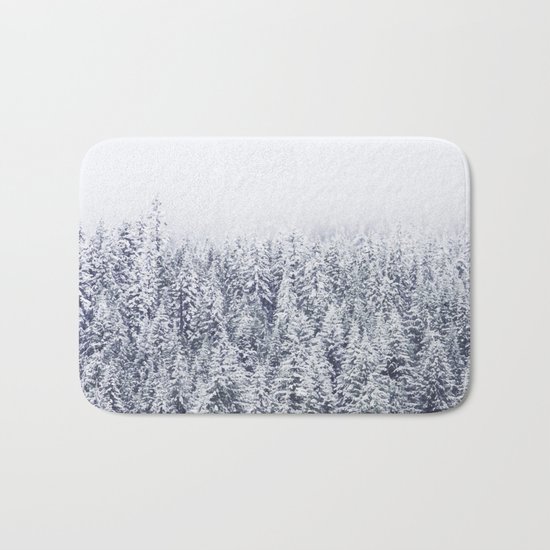 A Tale of Snow #society6 Bath Mat