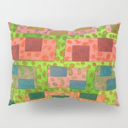 Added Color to a Colorful Wall Pillow Sham