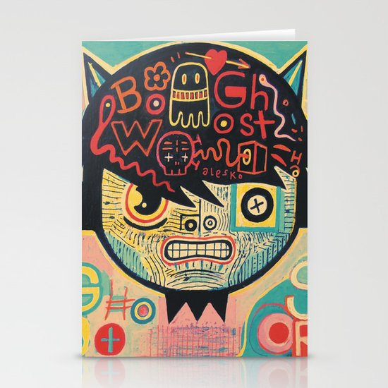 Chinese ghost story Stationery Cards