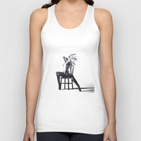 the shining Tank Tops featuring Shining by DeeDee