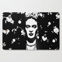 Black 'n white Frida Cutting Board